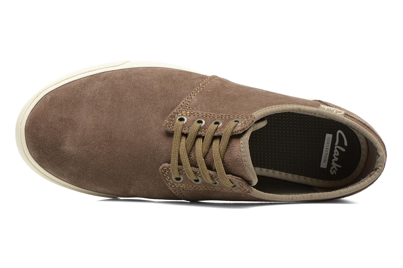 Lace-up shoes Clarks Torbay Lace Grey view from the left