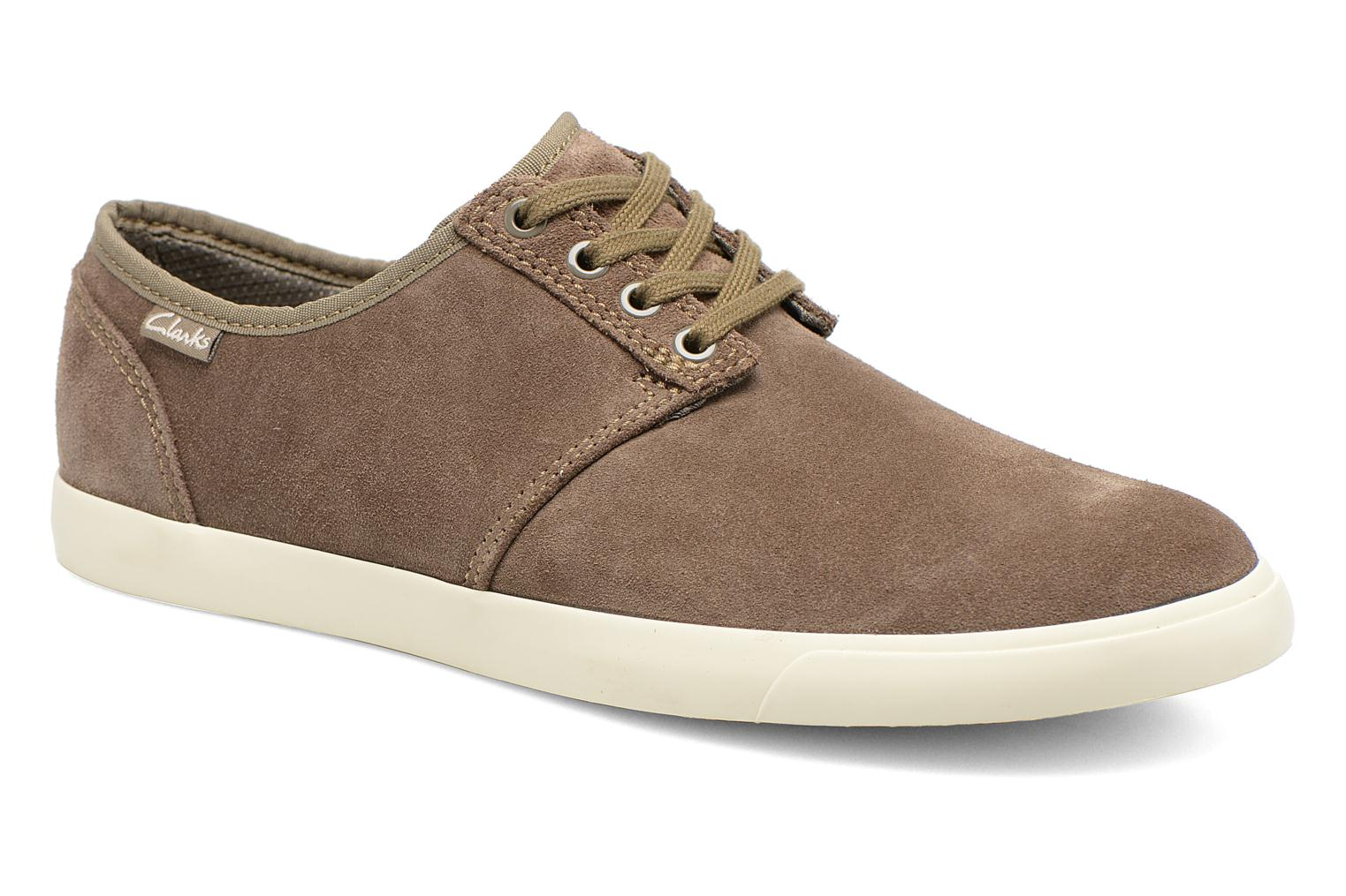 Lace-up shoes Clarks Torbay Lace Grey detailed view/ Pair view