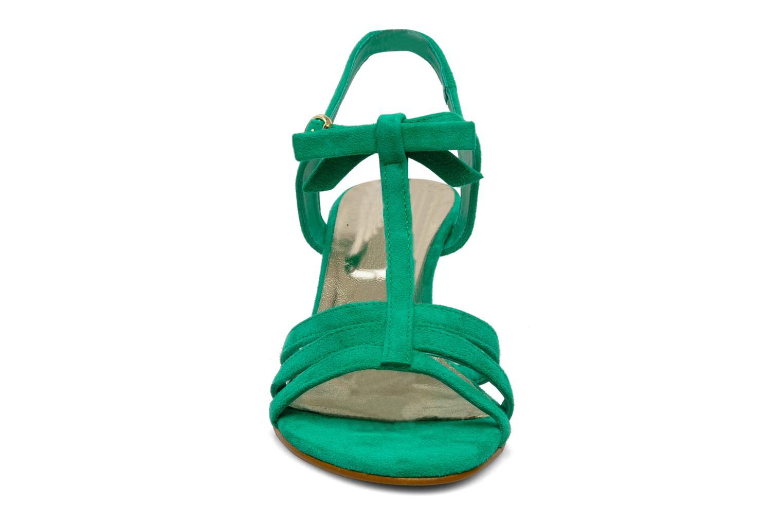 Sandales et nu-pieds Georgia Rose Luxy Vert vue portées chaussures
