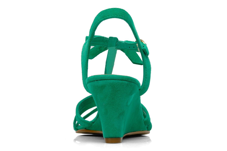 Sandales et nu-pieds Georgia Rose Luxy Vert vue droite
