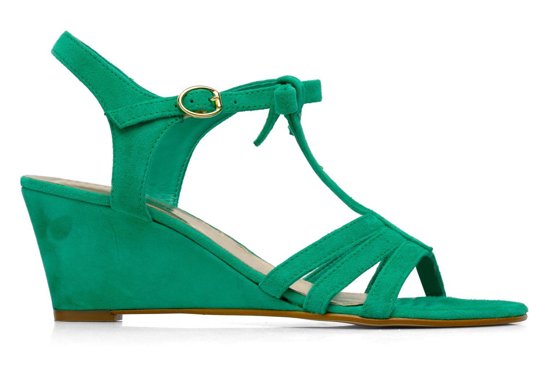 Sandales et nu-pieds Georgia Rose Luxy Vert vue derrière
