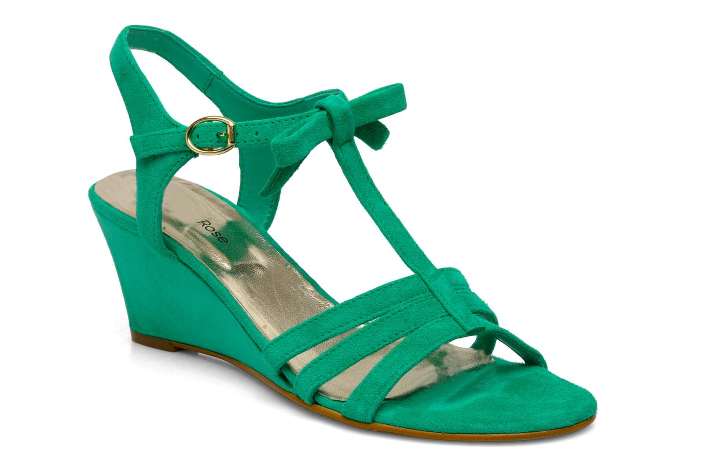 Sandales et nu-pieds Georgia Rose Luxy Vert vue détail/paire