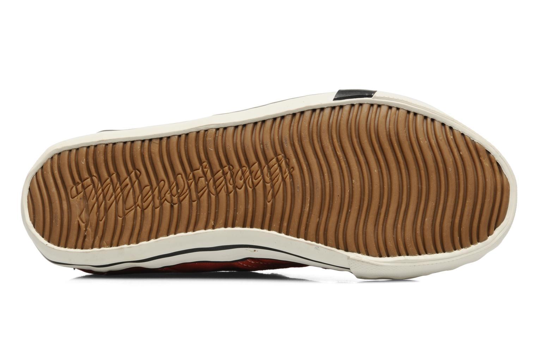 Baskets Mustang shoes Flaki Rouge vue haut