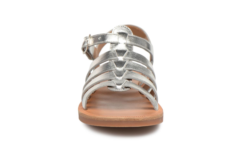 Sandals Pom d Api Plagette Strap Silver model view
