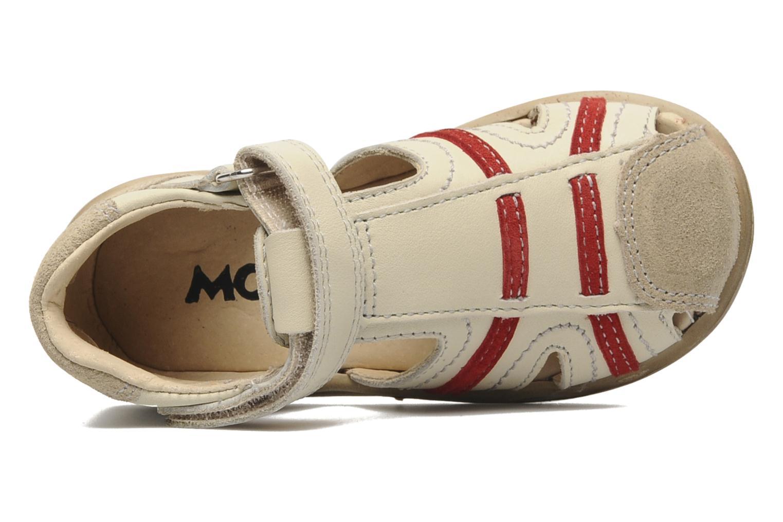 Sandalen Mod8 Ilasur beige ansicht von links