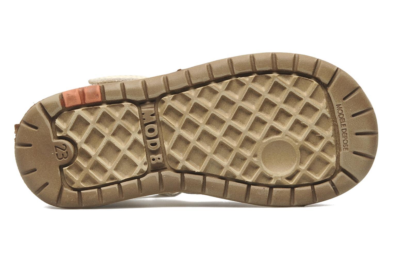 Sandalen Mod8 Ilasur beige ansicht von oben