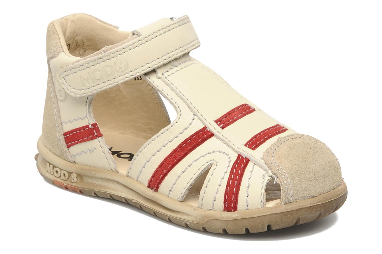 Sandals Mod8 Ilasur Beige detailed view/ Pair view