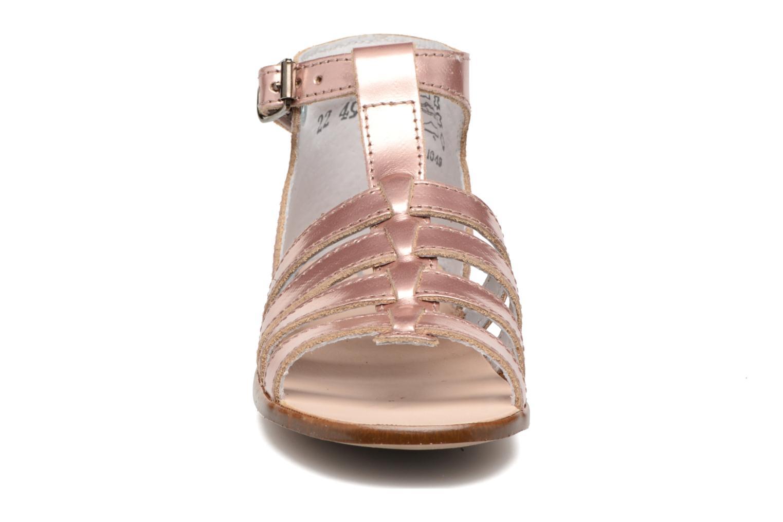 Sandales et nu-pieds Little Mary Hosmose Rose vue portées chaussures