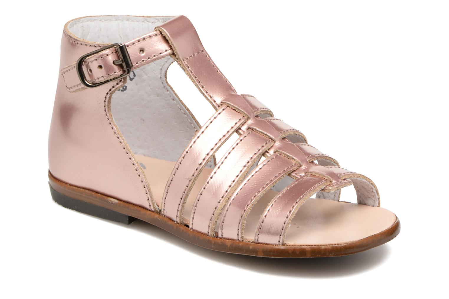 Sandals Little Mary Hosmose Pink detailed view/ Pair view