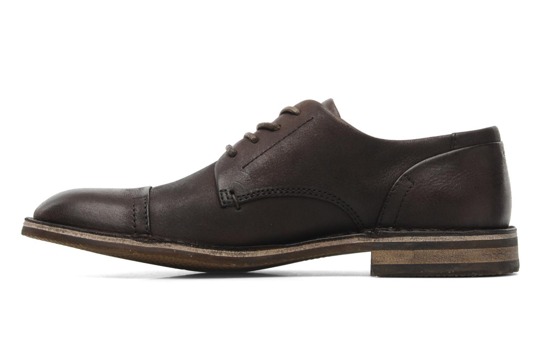 Chaussures à lacets Kickers Edgar Marron vue face