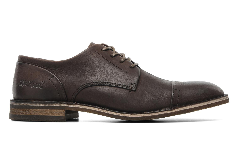 Chaussures à lacets Kickers Edgar Marron vue derrière