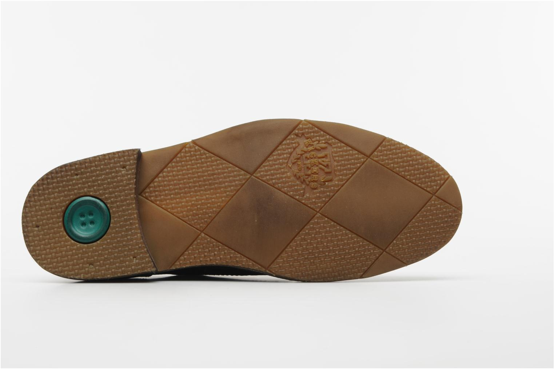Chaussures à lacets Kickers Edgar Marron vue haut