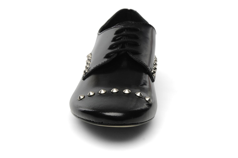 Schnürschuhe Jonak Jallans schwarz schuhe getragen