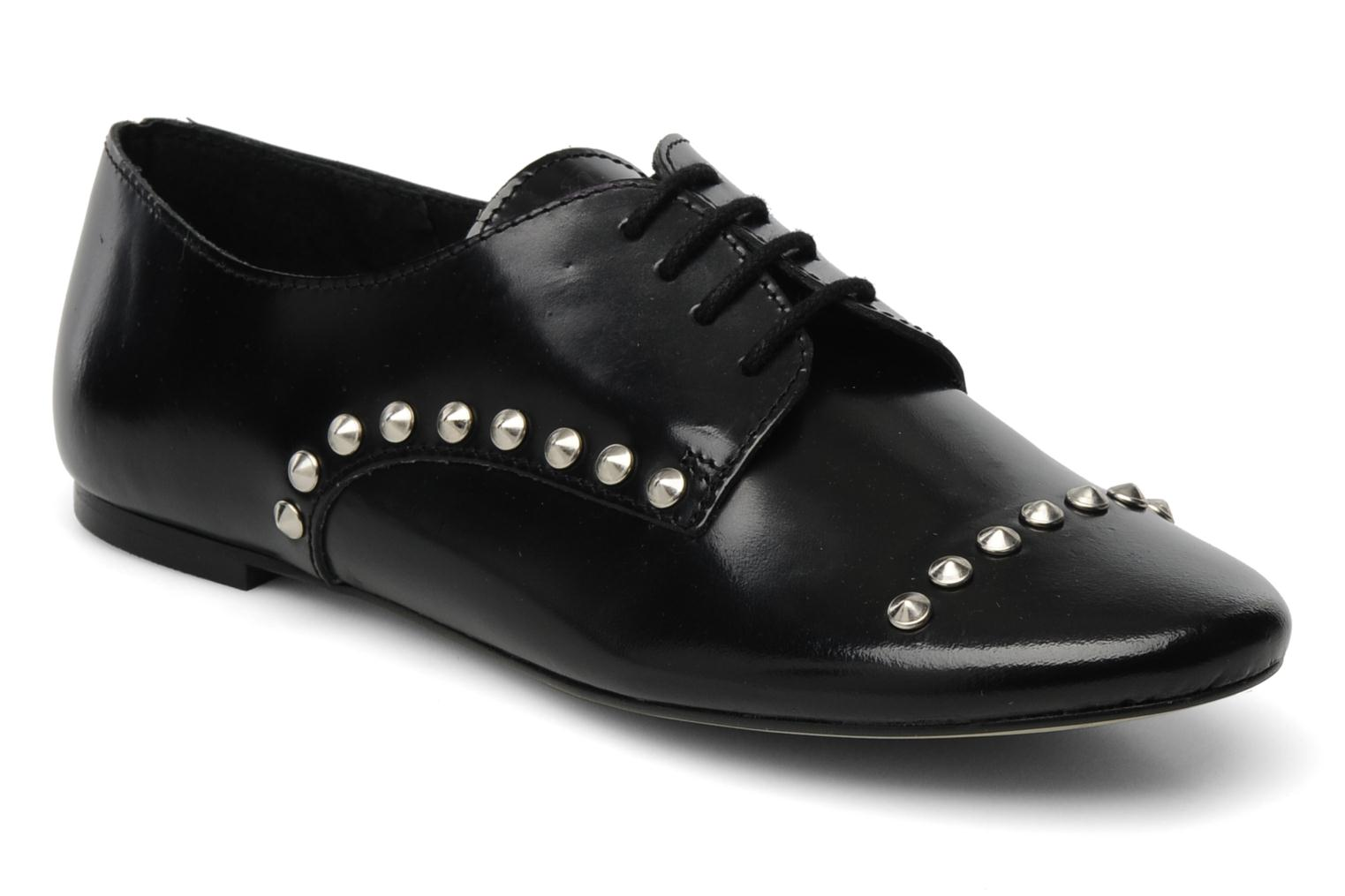 Lace-up shoes Jonak Jallans Black detailed view/ Pair view