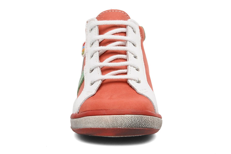 Bottines et boots Bopy Zatos Rouge vue portées chaussures