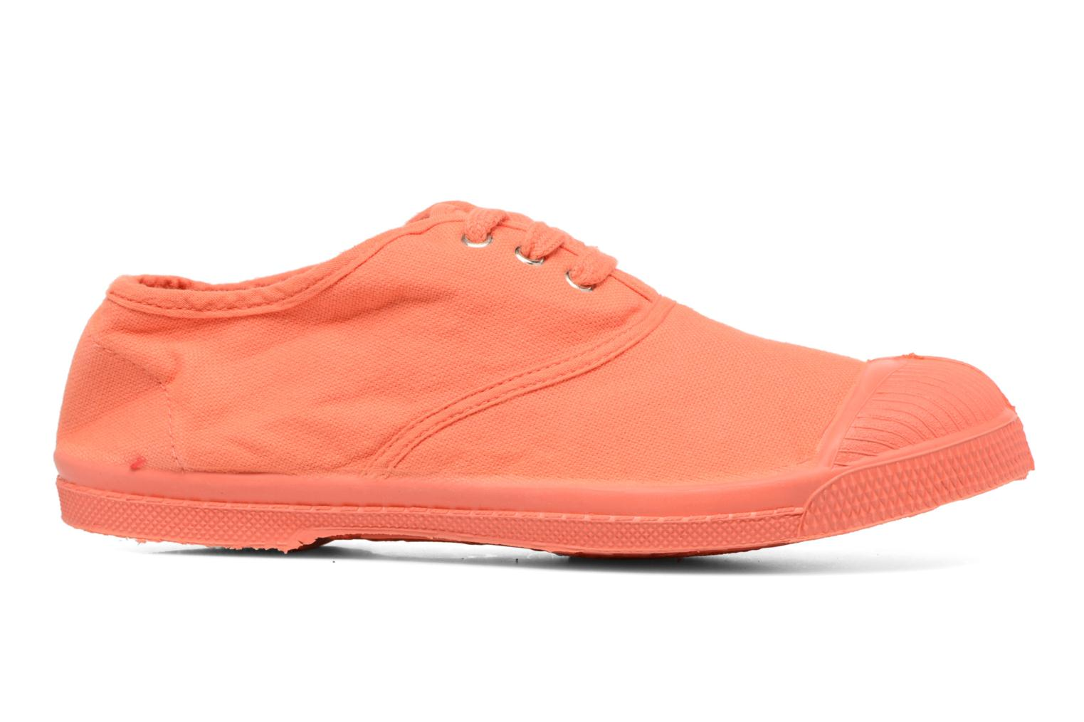Baskets Bensimon Tennis Colorsole E Orange vue derrière