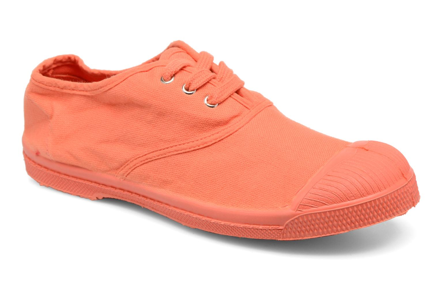 Baskets Bensimon Tennis Colorsole E Orange vue détail/paire