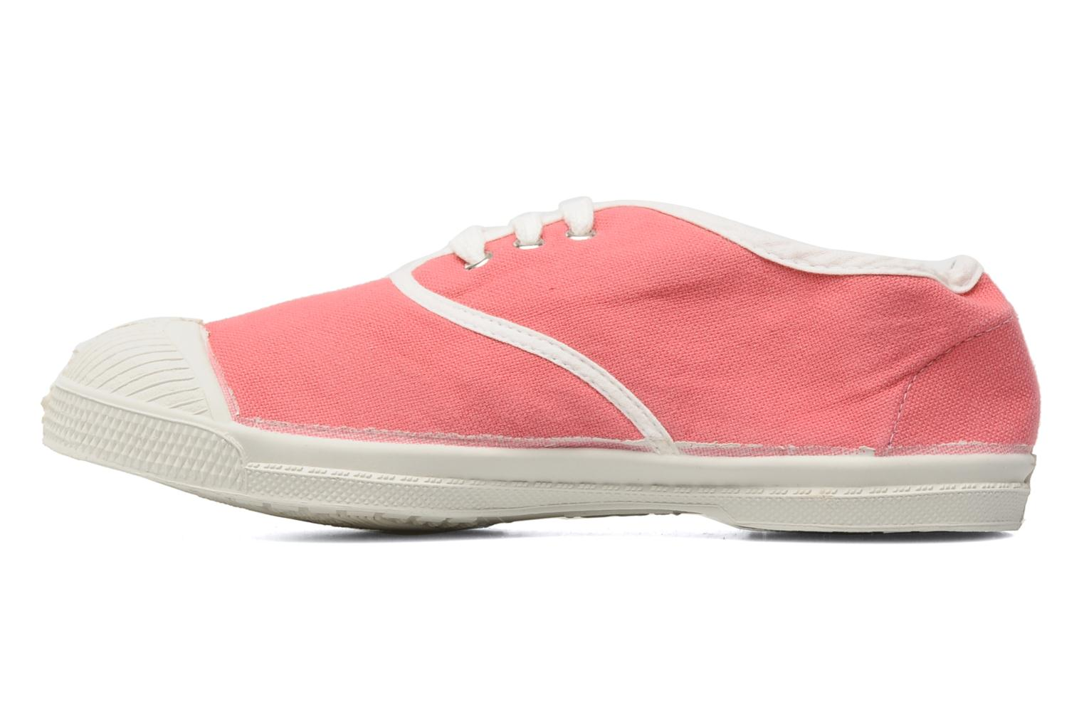 Deportivas Bensimon Tennis Colorpiping E Rosa vista de frente