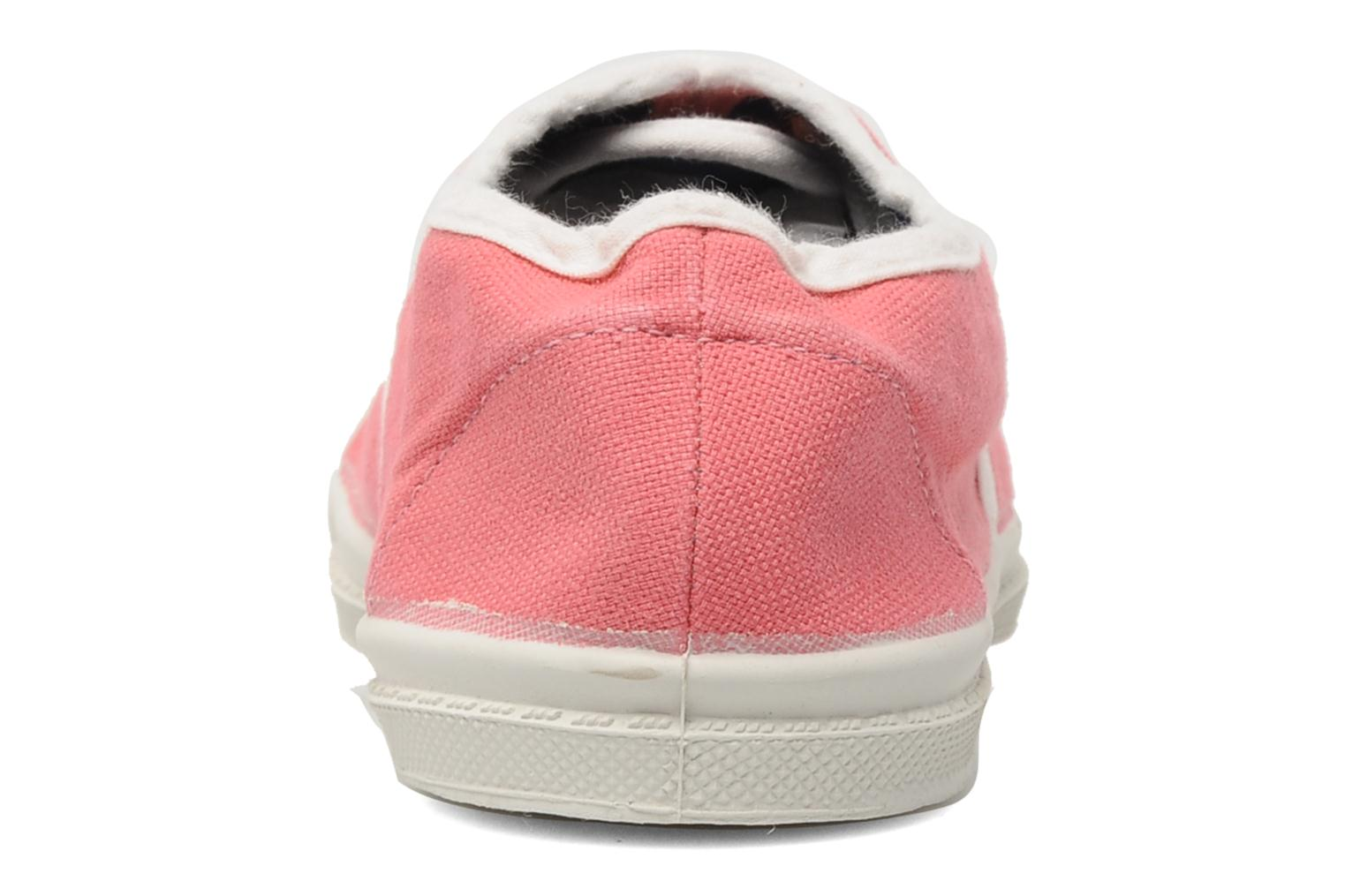 Baskets Bensimon Tennis Colorpiping E Rose vue droite