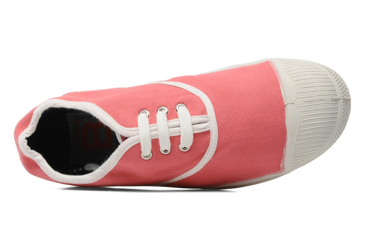 Sneaker Bensimon Tennis Colorpiping E rosa ansicht von links