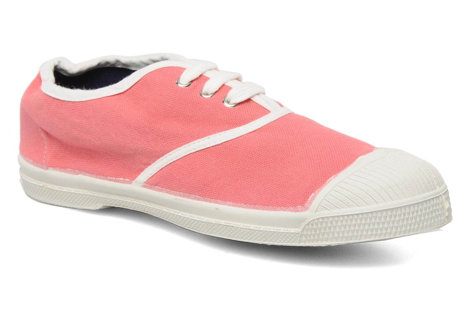 Baskets Bensimon Tennis Colorpiping E Rose vue détail/paire