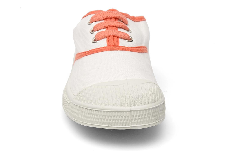 Sneakers Bensimon Tennis Colorpiping E Vit bild av skorna på