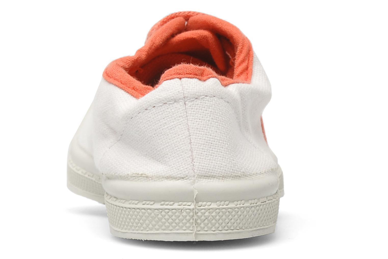 Sneakers Bensimon Tennis Colorpiping E Vit Bild från höger sidan