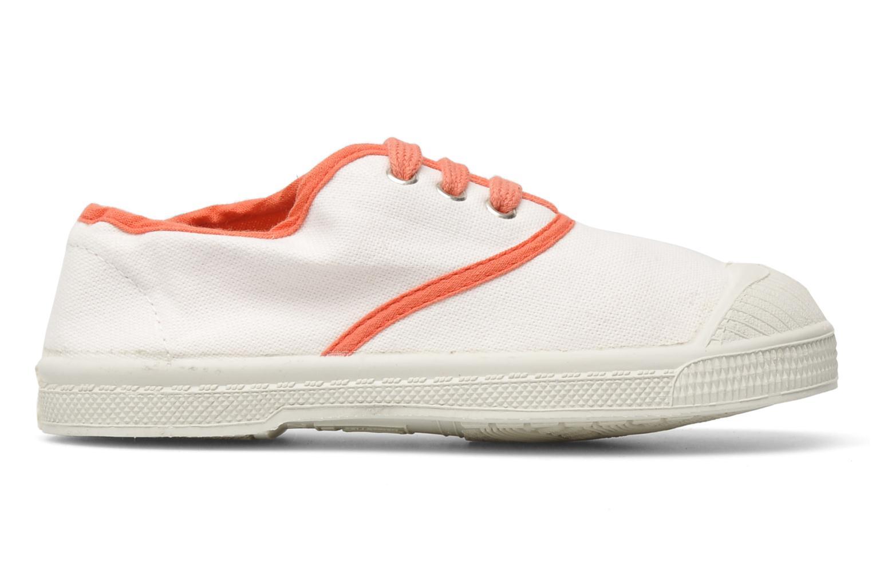 Sneakers Bensimon Tennis Colorpiping E Vit bild från baksidan