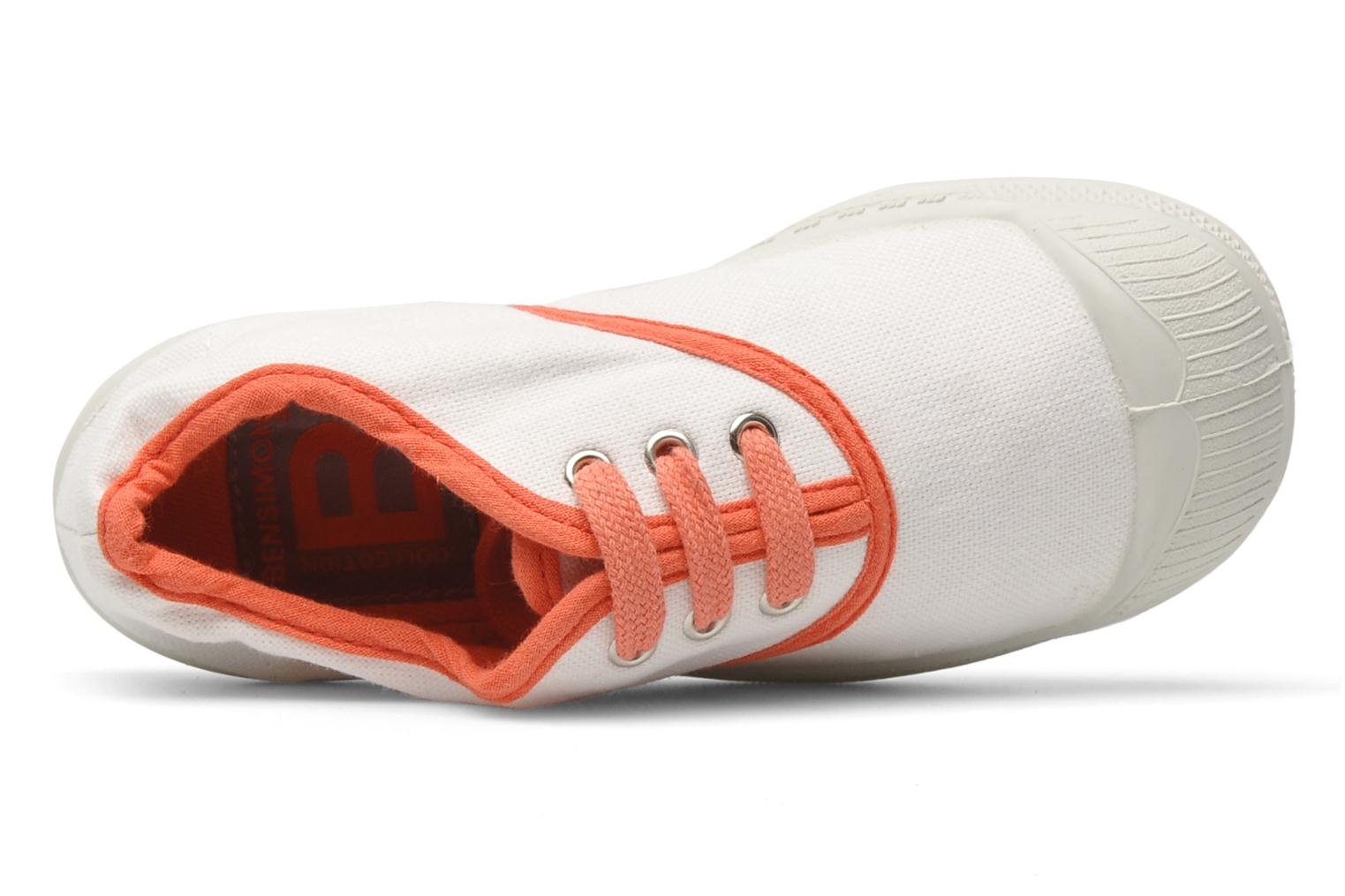 Sneaker Bensimon Tennis Colorpiping E weiß ansicht von links