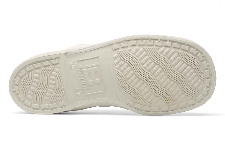 Sneakers Bensimon Tennis Colorpiping E Vit bild från ovan