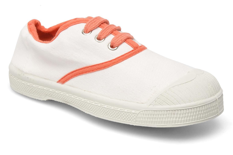 Sneakers Bensimon Tennis Colorpiping E Vit detaljerad bild på paret