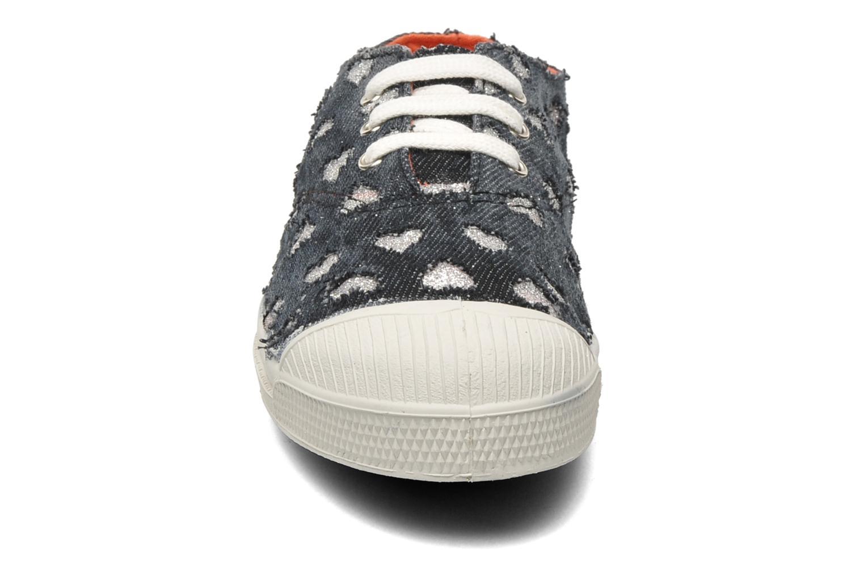 Sneakers Bensimon Tennis Glitter Love E Zwart model