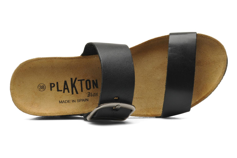Clogs & Pantoletten Plakton So Rock schwarz ansicht von links