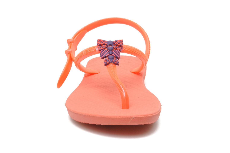 Sandals Havaianas Kids Freedom Orange model view