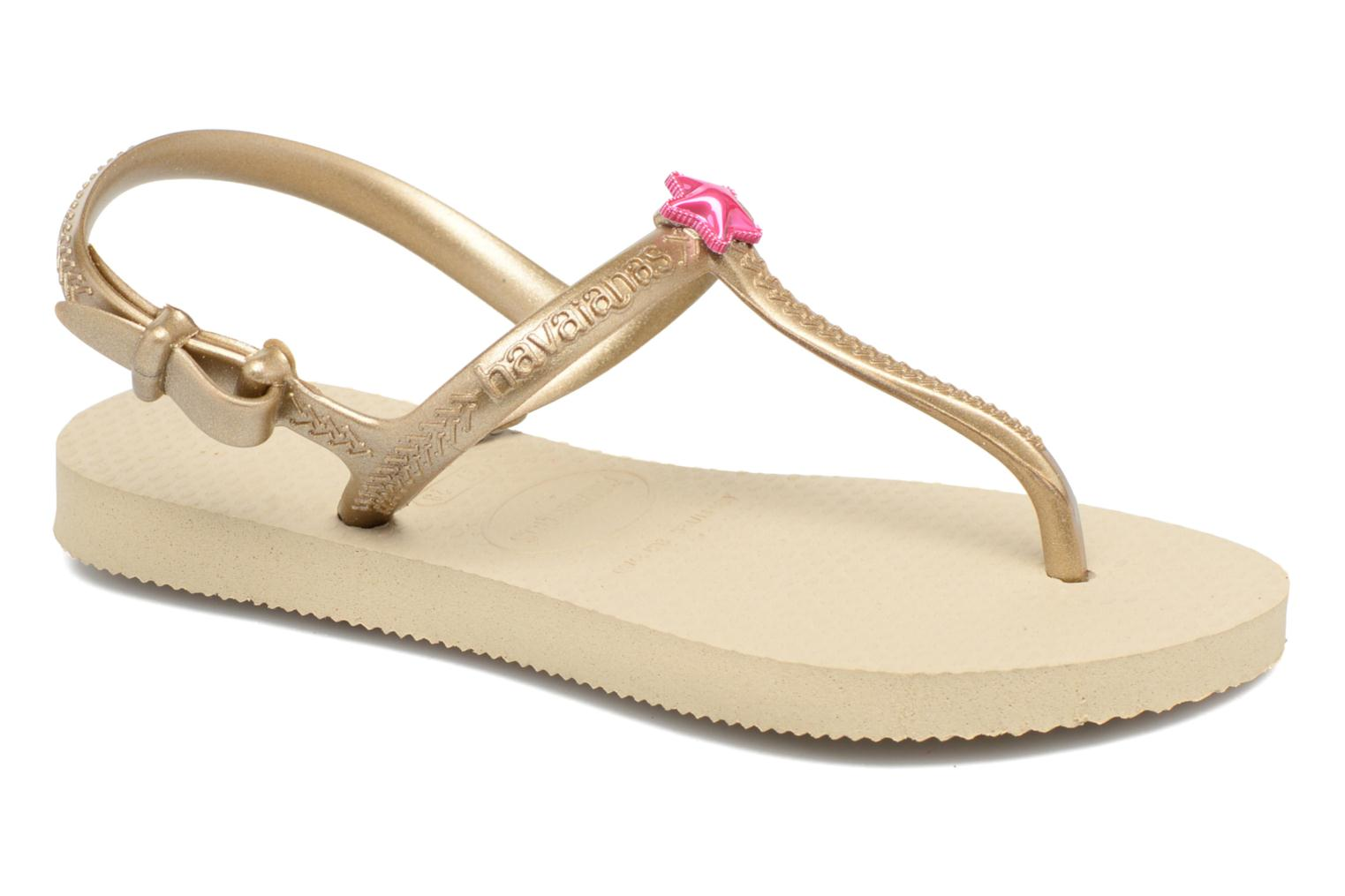 Sandals Havaianas Kids Freedom Beige detailed view/ Pair view
