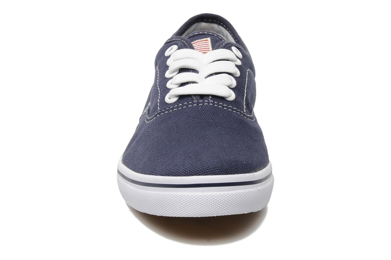 Baskets U.S Polo Assn. Dottie canvas Bleu vue portées chaussures