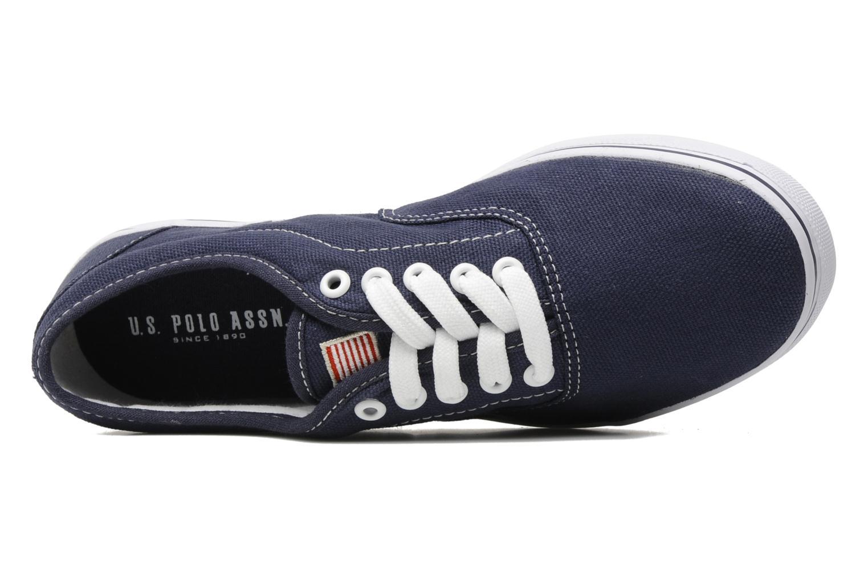 Baskets U.S Polo Assn. Dottie canvas Bleu vue gauche