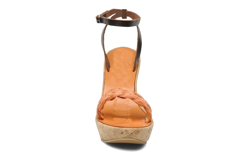 Sandales et nu-pieds U.S Polo Assn. Delicia Orange vue portées chaussures