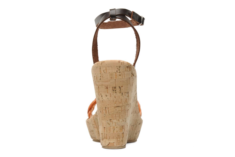 Sandales et nu-pieds U.S Polo Assn. Delicia Orange vue droite