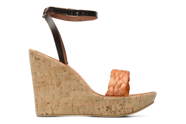 Sandales et nu-pieds U.S Polo Assn. Delicia Orange vue derrière