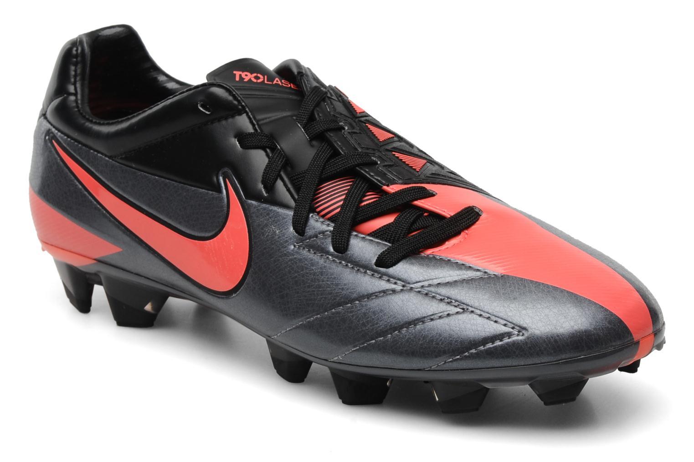 Sportschoenen Nike T90 Laser IV FG Grijs detail