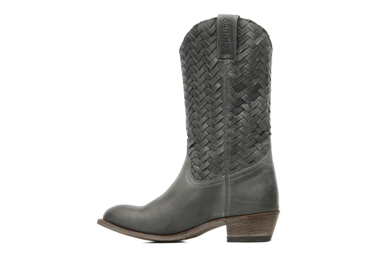 Bottines et boots Sancho Boots Jlo Gris vue face