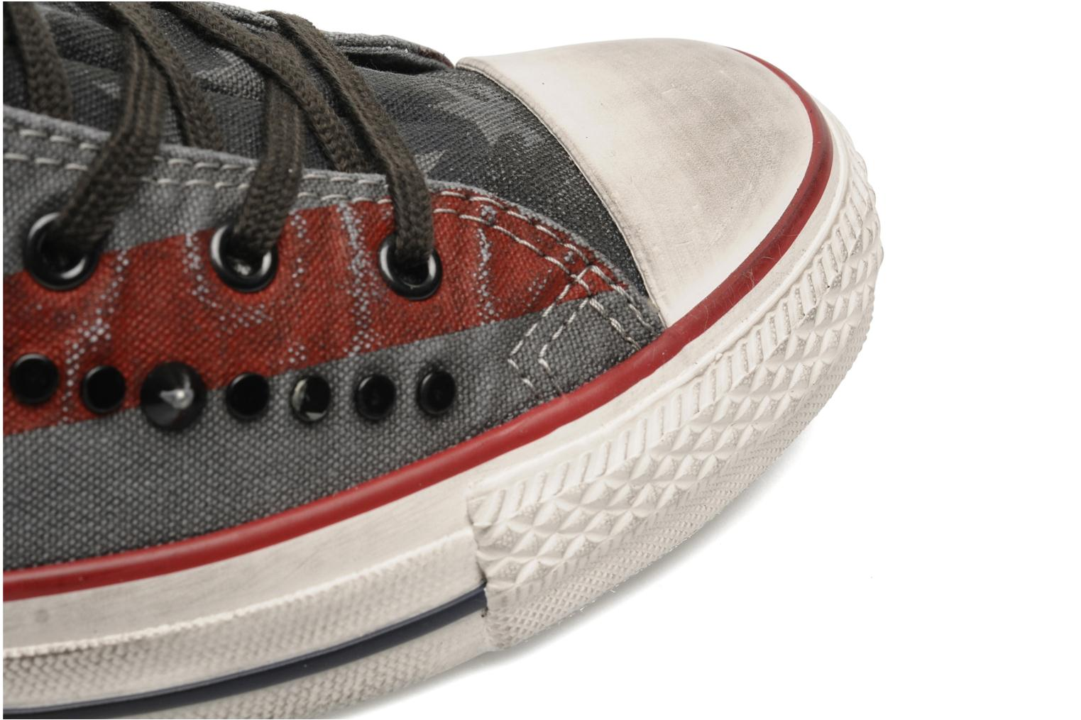 Chuck Taylor All Star Premium Washed Flag Hi W Anthracite/Bordeaux