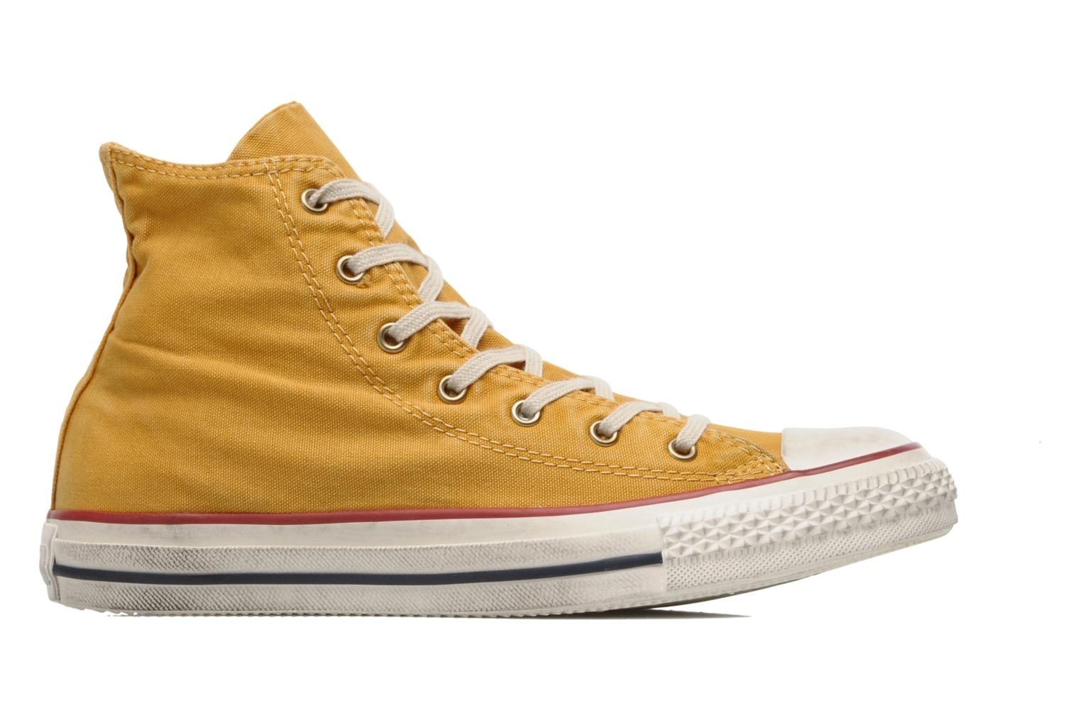 Sneakers Converse Chuck Taylor All Star Fashion Washed Hi W Geel achterkant