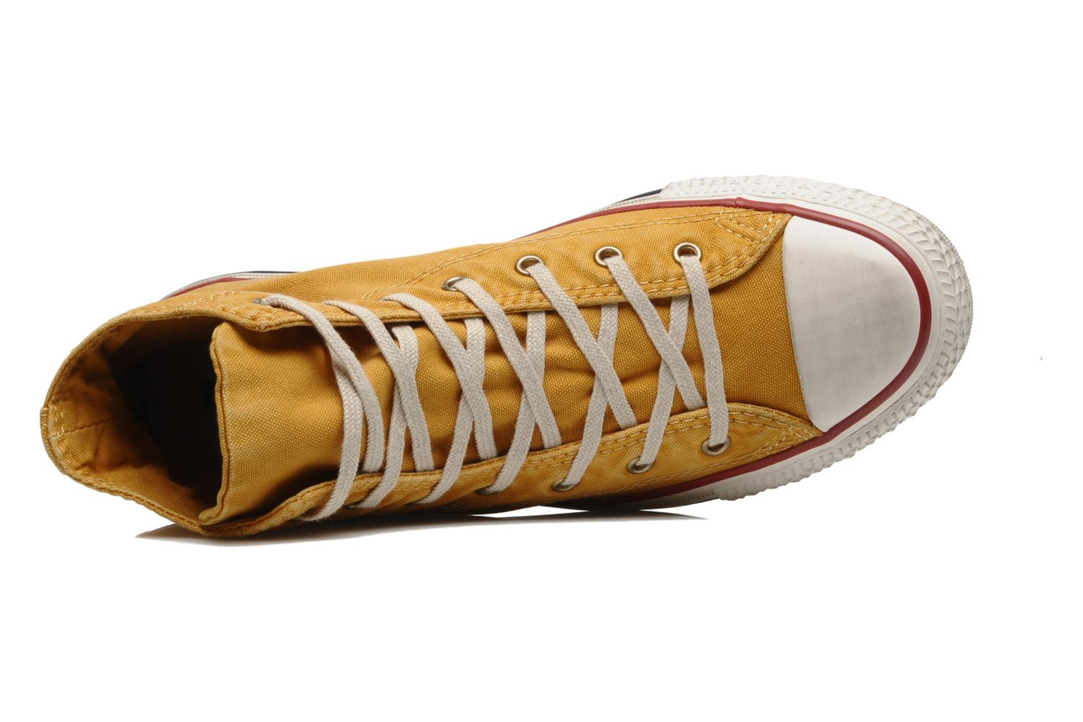 Sneakers Converse Chuck Taylor All Star Fashion Washed Hi W Geel links