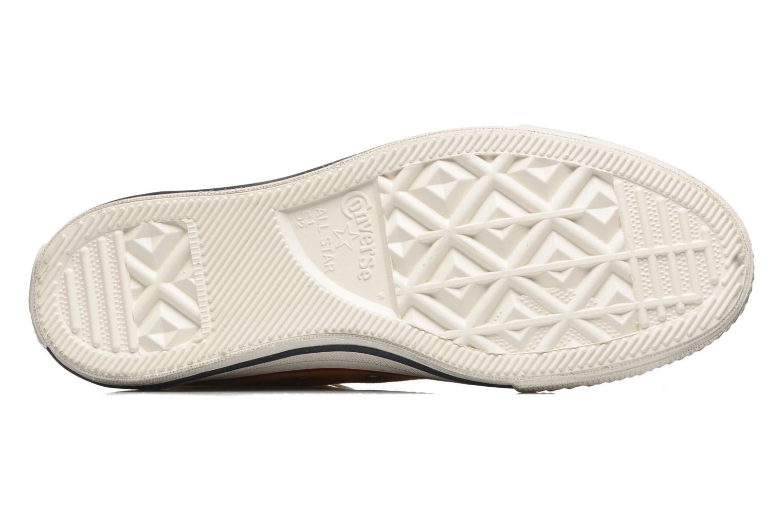 Sneaker Converse Chuck Taylor All Star Fashion Washed Hi W gelb ansicht von oben