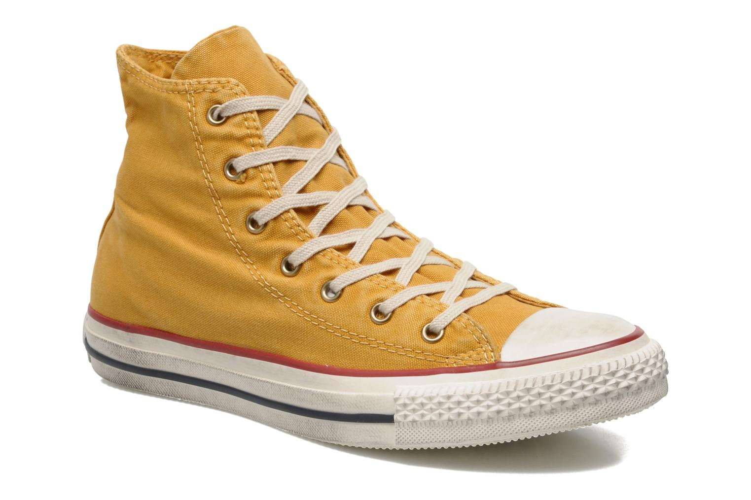Sneakers Converse Chuck Taylor All Star Fashion Washed Hi W Geel detail