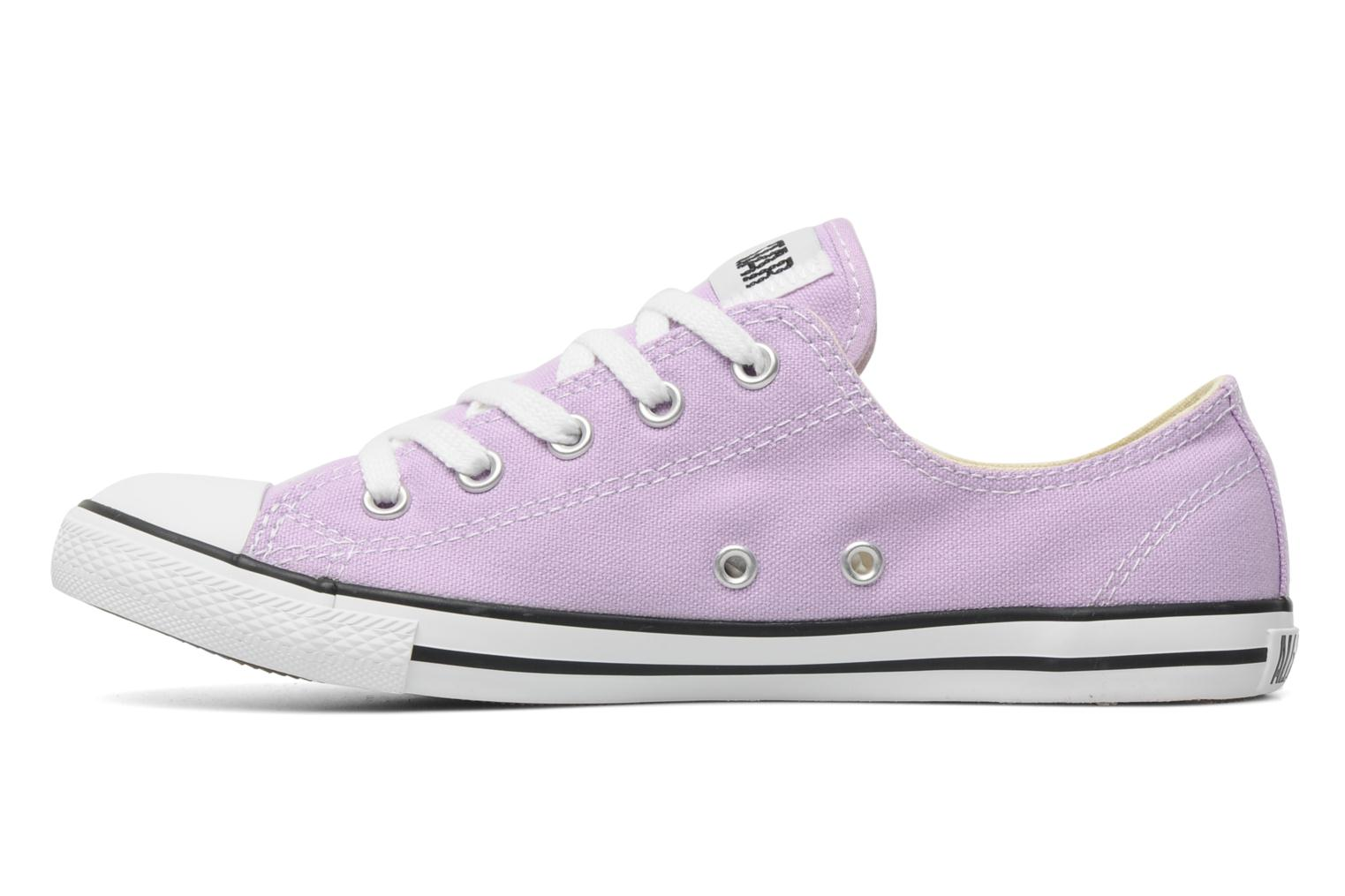 Sneakers Converse All Star Dainty Canvas Ox W Paars voorkant