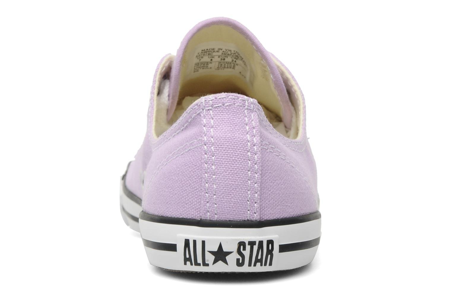 Sneakers Converse All Star Dainty Canvas Ox W Paars rechts