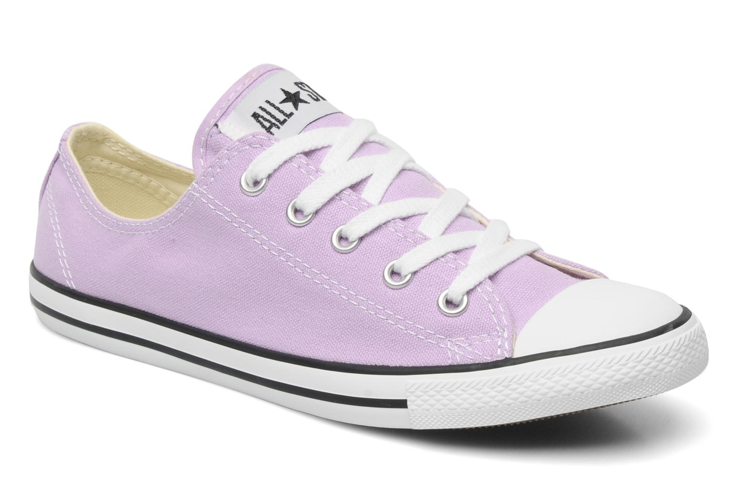 Sneakers Converse All Star Dainty Canvas Ox W Paars detail